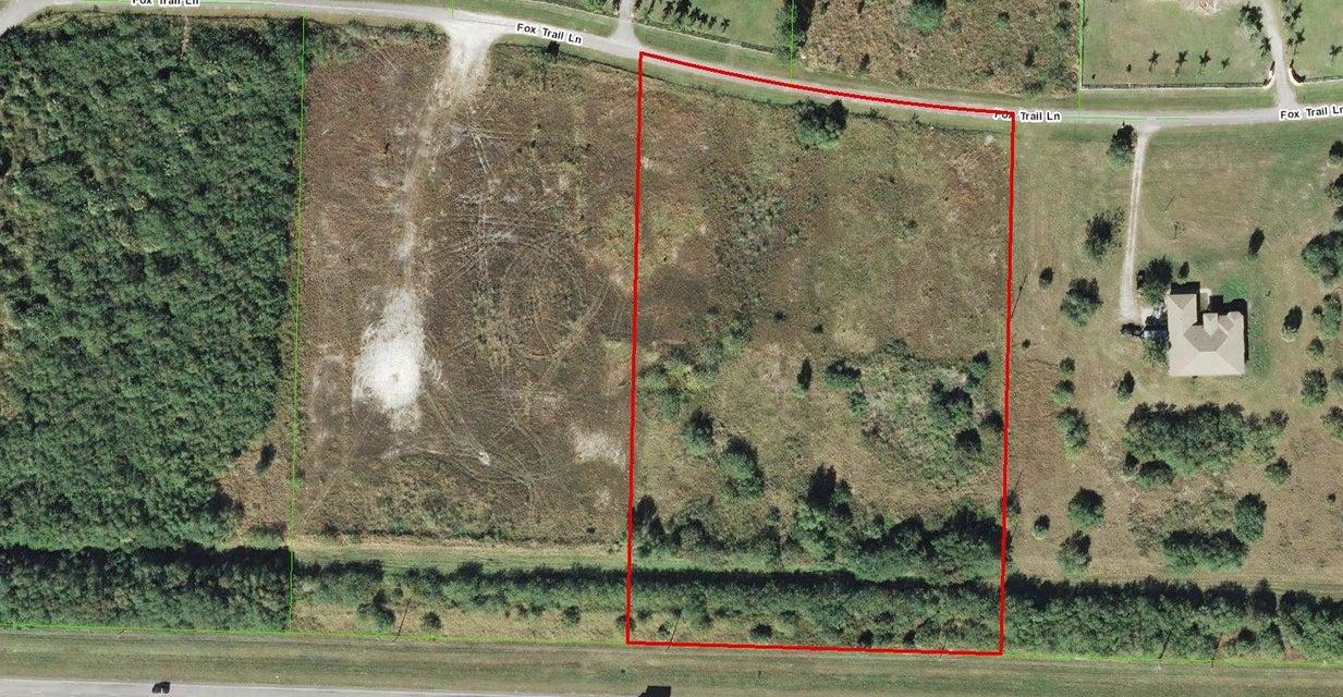 Land for Sale at 17756 Fox Lane Loxahatchee, Florida 33470 United States