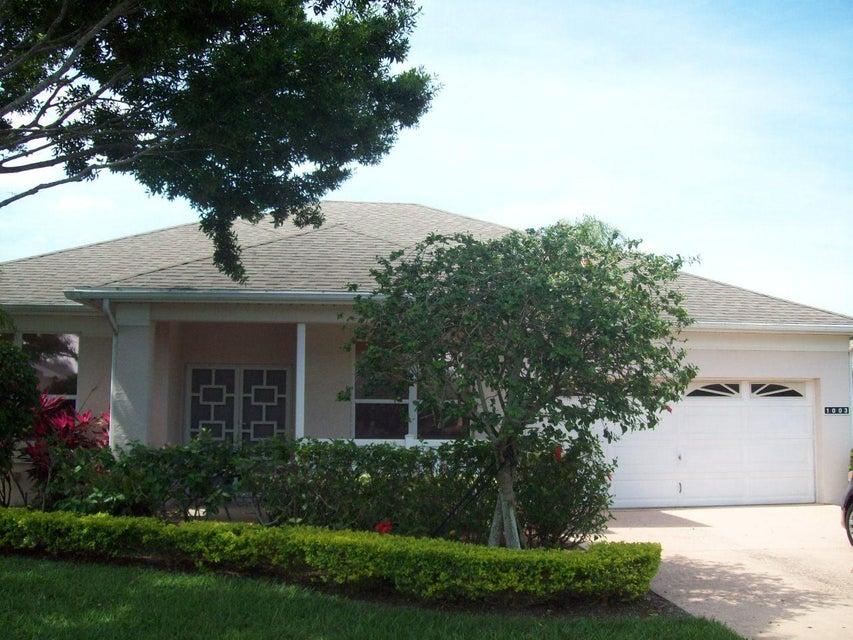 1003 NW Tuscany Drive, Port Saint Lucie, FL 34986