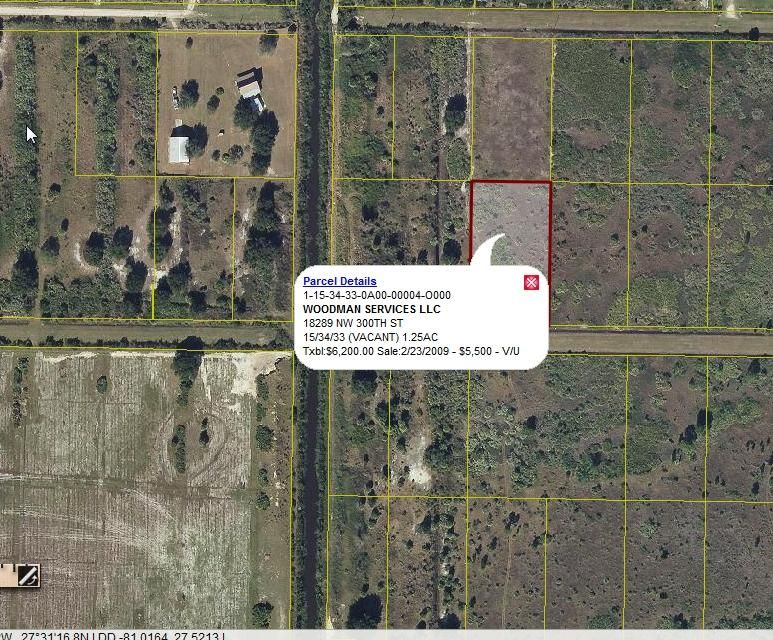 Additional photo for property listing at 18393 NW 300th  Okeechobee, Florida 34972 United States