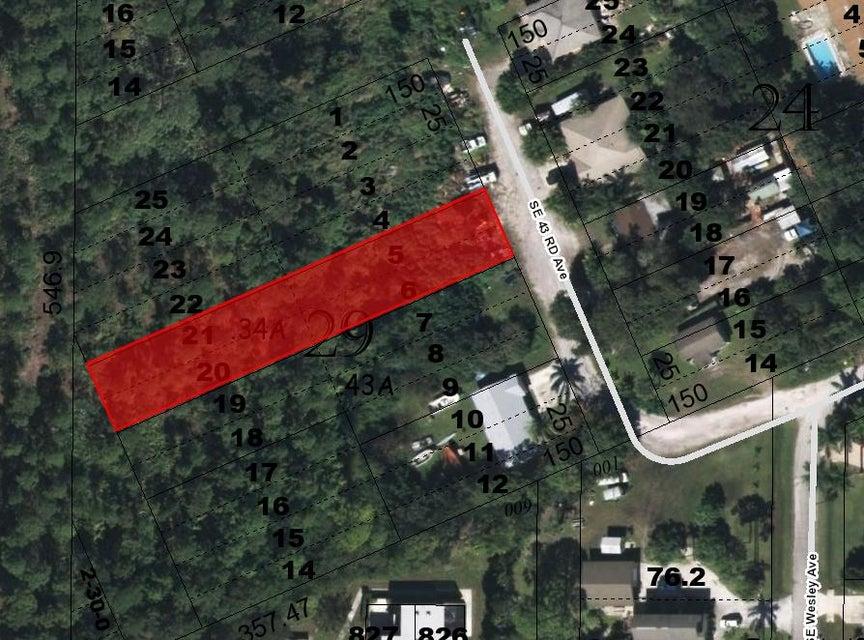 Land für Verkauf beim SE 43rd Avenue Stuart, Florida 34997 Vereinigte Staaten