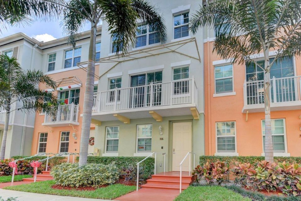Home for sale in The Moorings Townhouses Lantana Florida