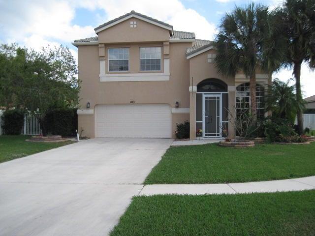 103 Chestnut Court  Royal Palm Beach, FL 33411
