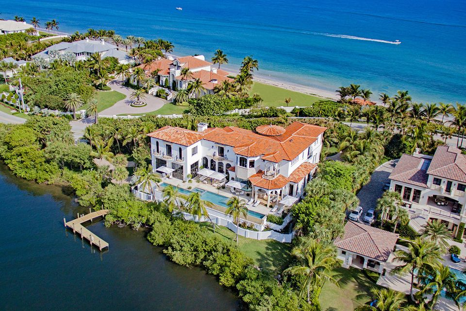 Single Family Home for Sale at 1555 S Ocean Boulevard 1555 S Ocean Boulevard Manalapan, Florida 33462 United States