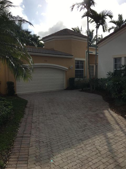 Townhouse for Sale at 7714 Bougainvillea Court West Palm Beach, Florida 33412 United States