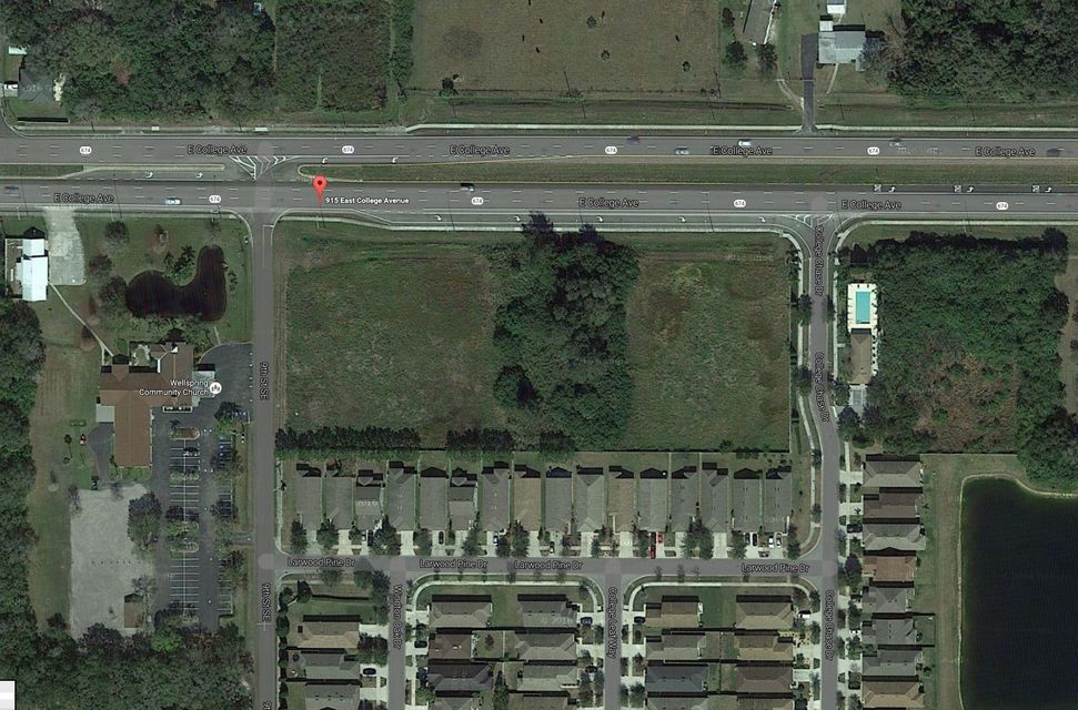 Commercial Land for Sale at 915 College Avenue E 915 College Avenue E Ruskin, Florida 33570 United States