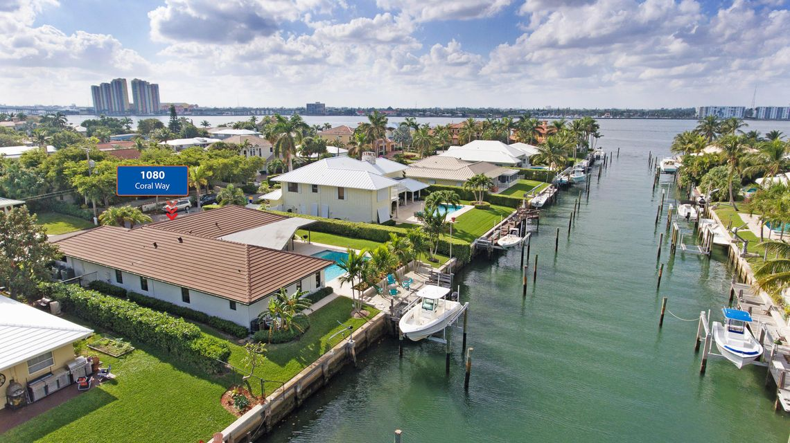 1080  Coral Way is listed as MLS Listing RX-10298847 with 53 pictures