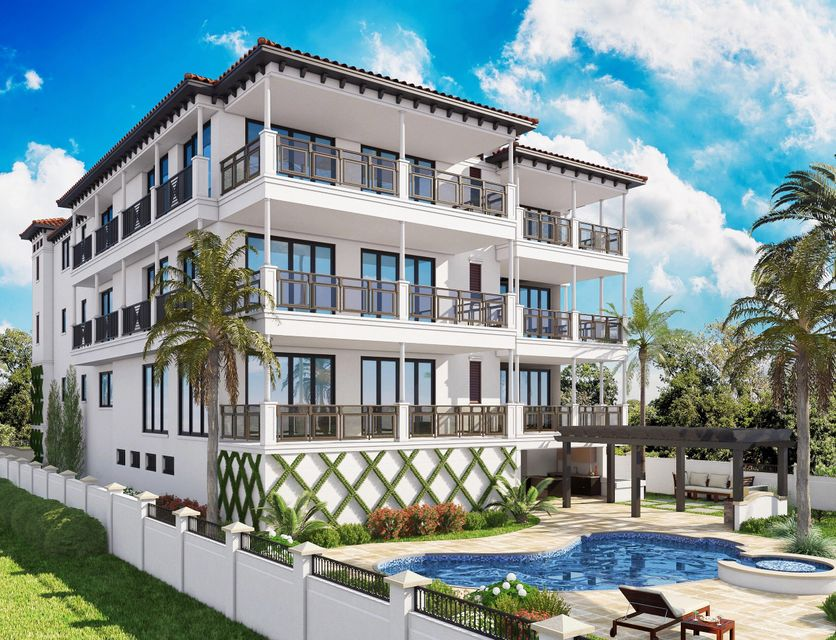 Condominio por un Venta en 224 Inlet Way # 2A 224 Inlet Way # 2A Palm Beach Shores, Florida 33404 Estados Unidos