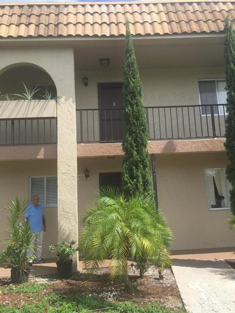 Forest Hill Gardens Condo West Palm Beach Florida