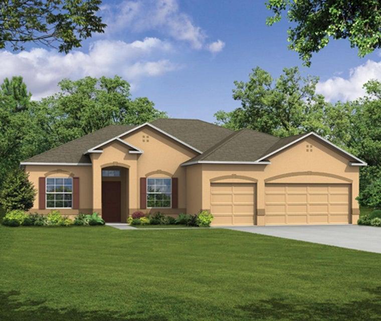 Casa para uma família para Venda às 1041 SW Castaneda Lane 1041 SW Castaneda Lane Port St. Lucie, Florida 34953 Estados Unidos