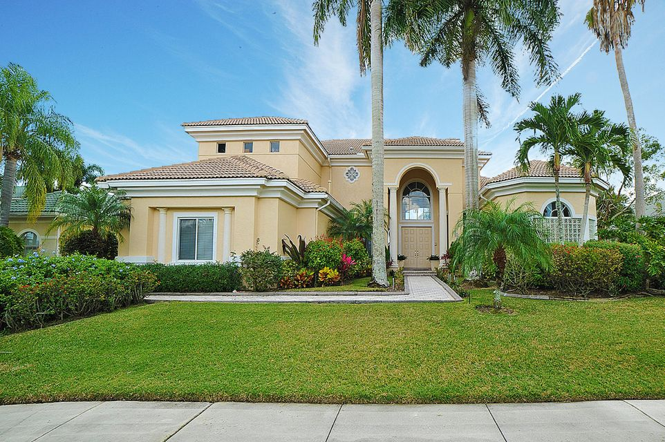 Single Family Home for Sale at 8561 Egret Lakes Lane 8561 Egret Lakes Lane West Palm Beach, Florida 33412 United States