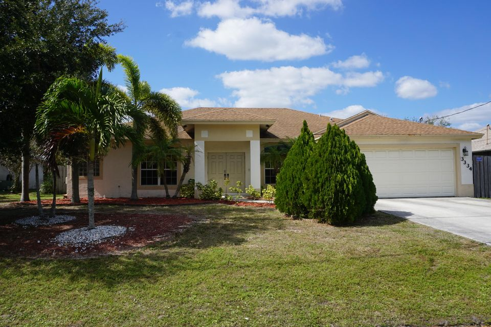 3334 SW Escarole Street is listed as MLS Listing RX-10309154 with 84 pictures