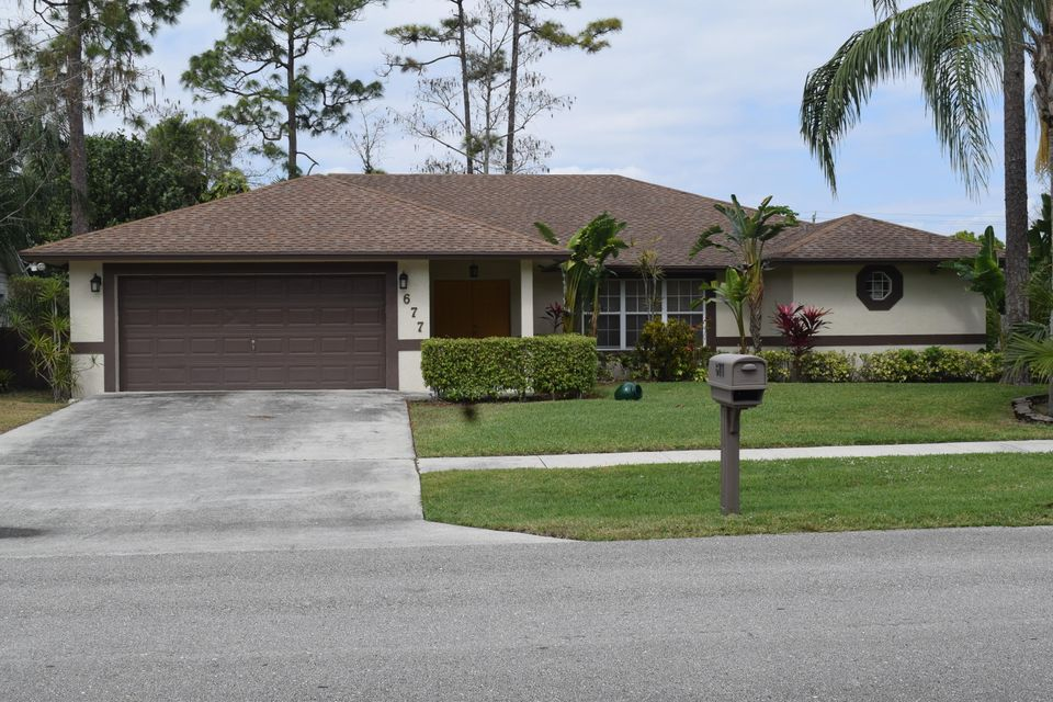 677 Blueberry Drive, Wellington, FL 33414