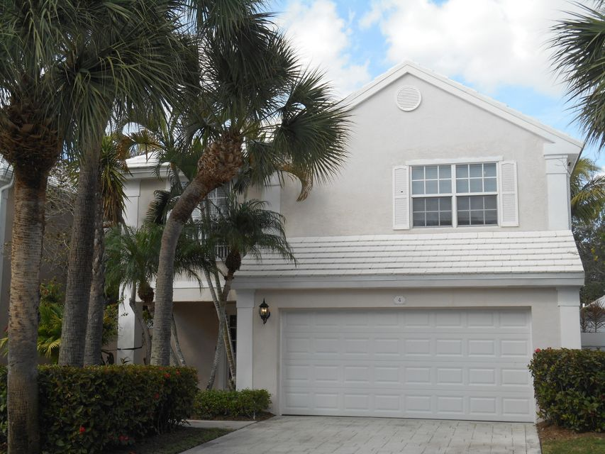 واحد منزل الأسرة للـ Sale في 4 Hampton Court 4 Hampton Court Palm Beach Gardens, Florida 33418 United States