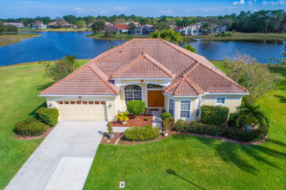 567 SW Spring Hill Point is listed as MLS Listing RX-10310410 with 48 pictures