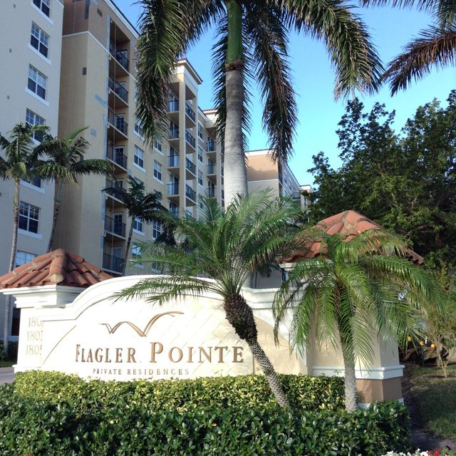 Co-op / Condominio por un Venta en 1801 N Flagler Drive West Palm Beach, Florida 33407 Estados Unidos