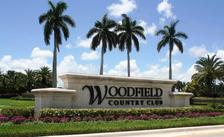 Woodfield Entrance