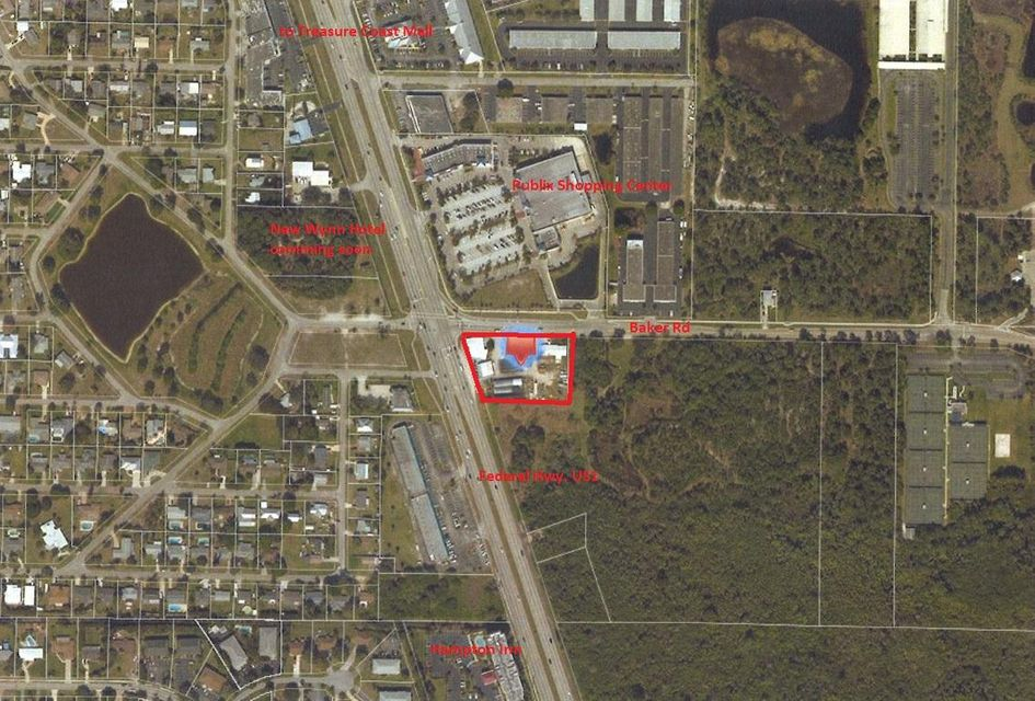 Land for Rent at 1405 NW Federal Highway 1405 NW Federal Highway Stuart, Florida 34994 United States
