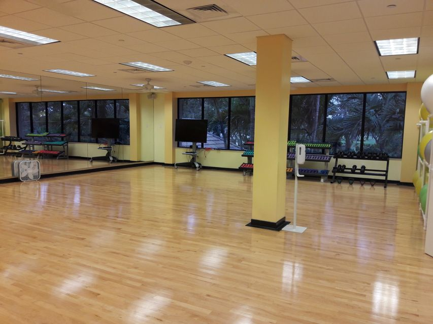 Club house classes fitness area