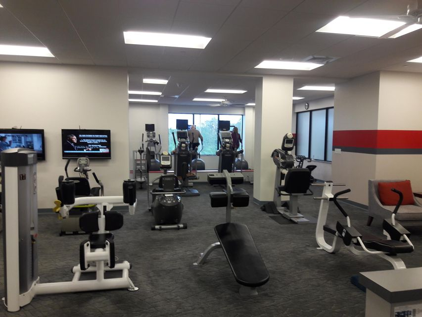 club house fitness area