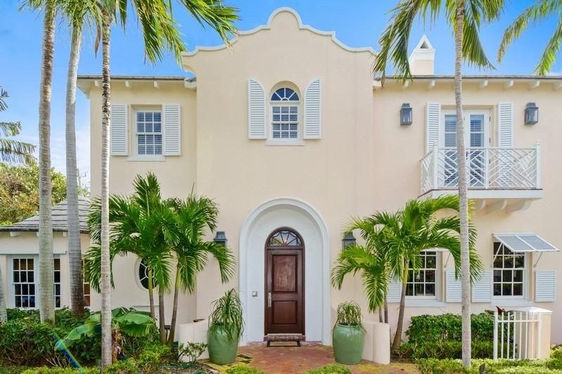Single Family Home for Sale at 208 Bahama Lane Palm Beach, Florida 33480 United States