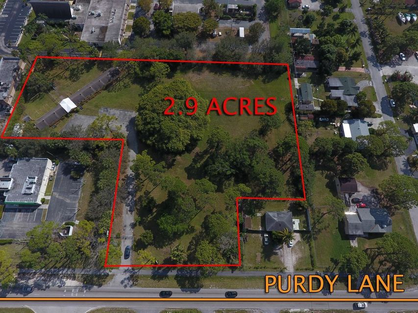 Commercial Land للـ Sale في 4600 Purdy Lane 4600 Purdy Lane West Palm Beach, Florida 33415 United States