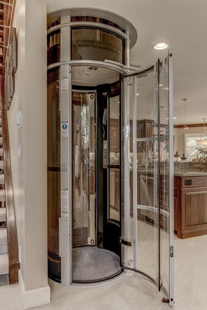 Elevator-Dumbwaiter to upper family room