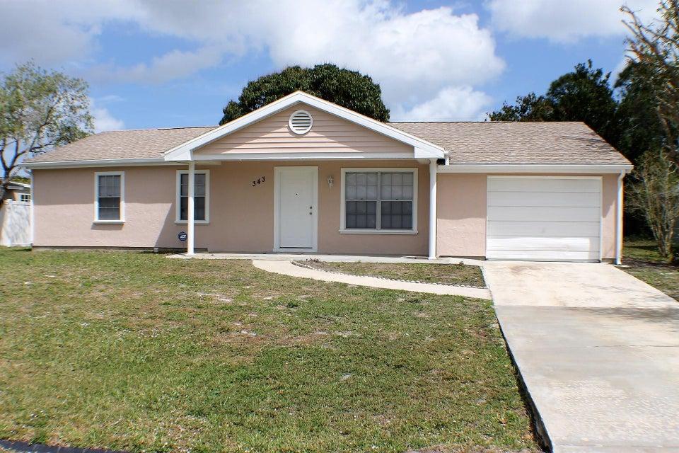 343 NW Camrose Street, Port Saint Lucie, FL 34983