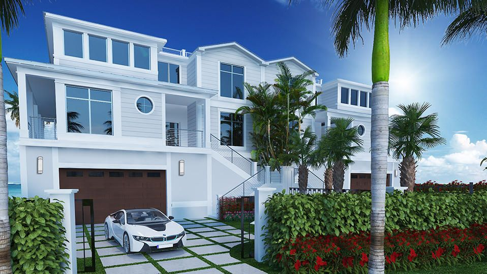 Townhouse for Sale at 5003 Old Ocean Boulevard 5003 Old Ocean Boulevard Ocean Ridge, Florida 33435 United States