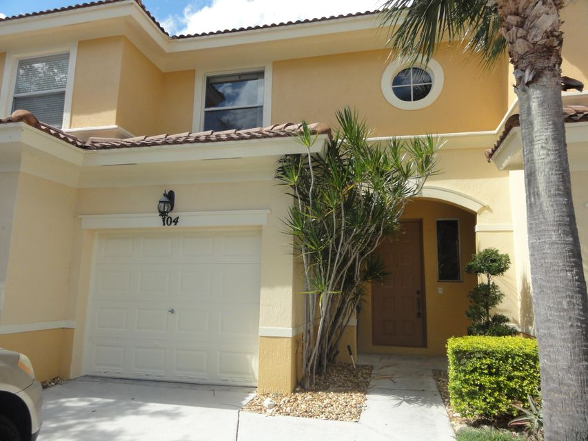 Townhouse for Sale at 104 Wakulla Springs Way Royal Palm Beach, Florida 33411 United States
