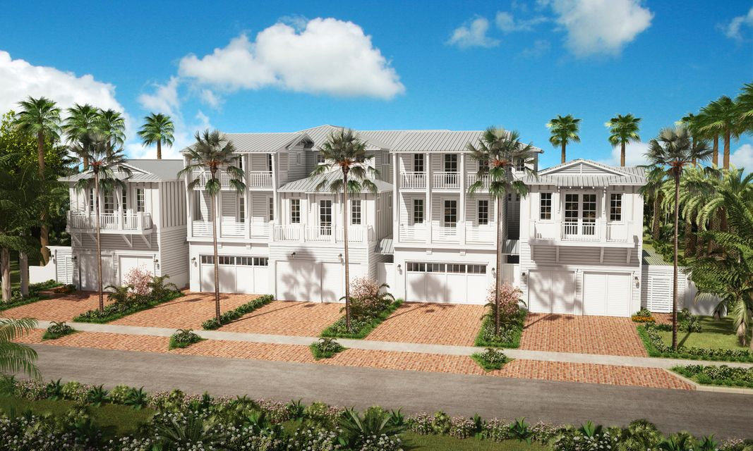 Casa unifamiliar adosada (Townhouse) por un Venta en 110 Andrews Avenue 110 Andrews Avenue Delray Beach, Florida 33483 Estados Unidos