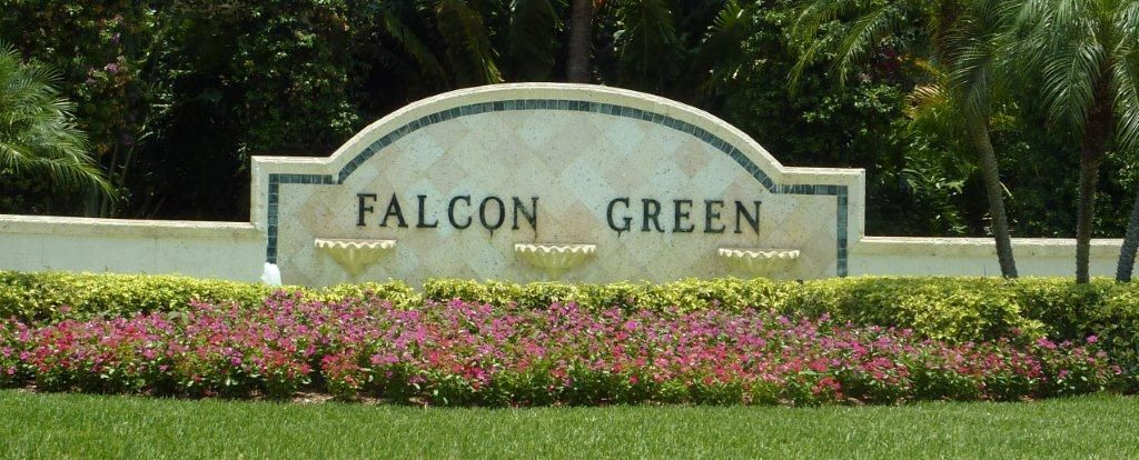 Falcon Green sign