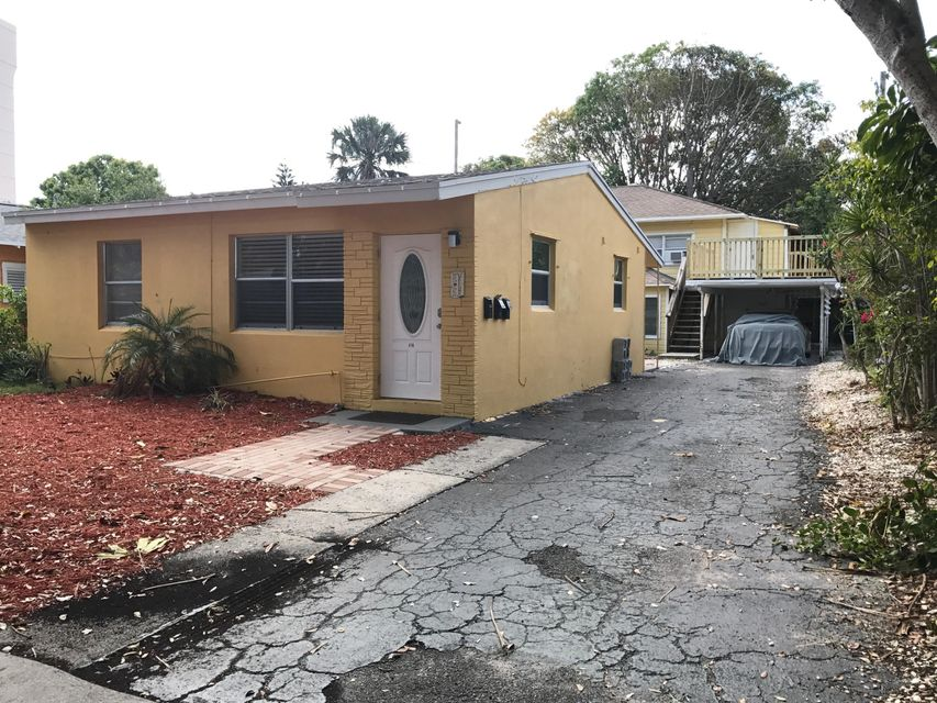 Triplex for Sale at 418 52nd Street 418 52nd Street West Palm Beach, Florida 33407 United States