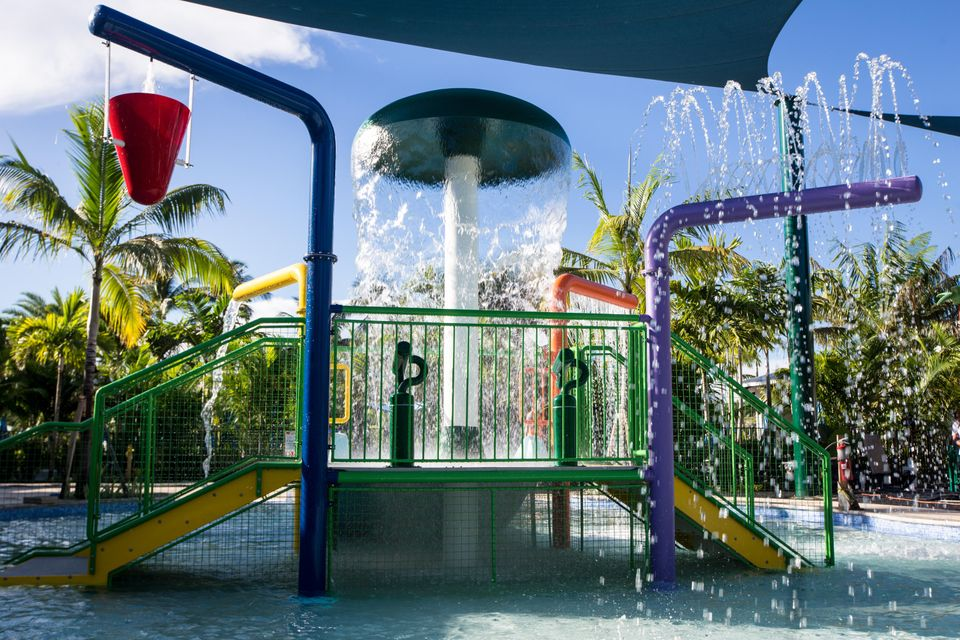 Woodfield Interactive Water Playground