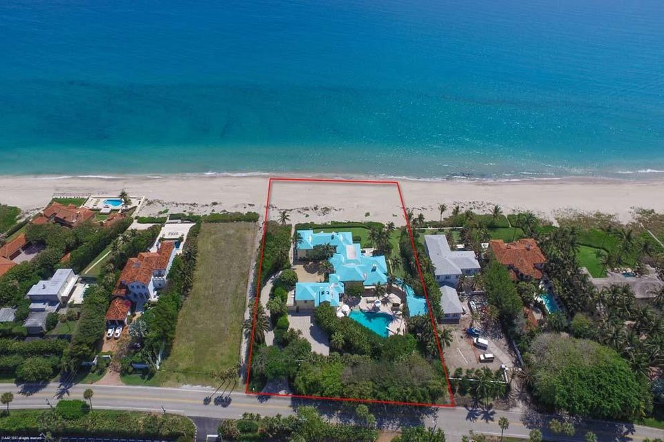 Single Family Home for Sale at 3545 N Ocean Boulevard 3545 N Ocean Boulevard Gulf Stream, Florida 33483 United States