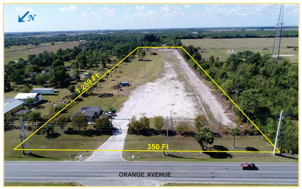 Agricultural Land للـ Sale في 8455 Orange Avenue 8455 Orange Avenue Fort Pierce, Florida 34945 United States