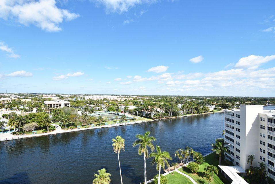 Intracoastal & City Views W from Patio