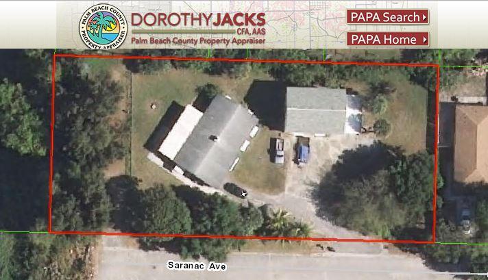 2923 Saranac Ave., House + Apt. + 2.5 Car Garage, West Palm Beach, FL 33409