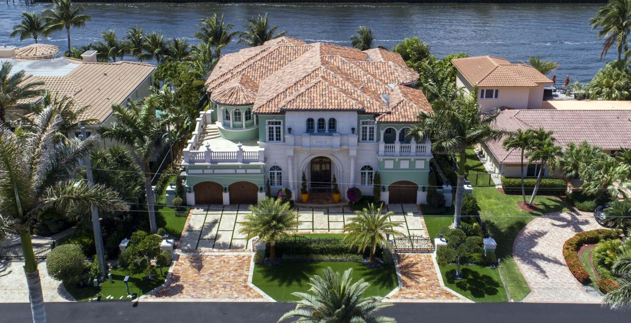 واحد منزل الأسرة للـ Sale في 4216 Intracoastal Drive 4216 Intracoastal Drive Highland Beach, Florida 33487 United States
