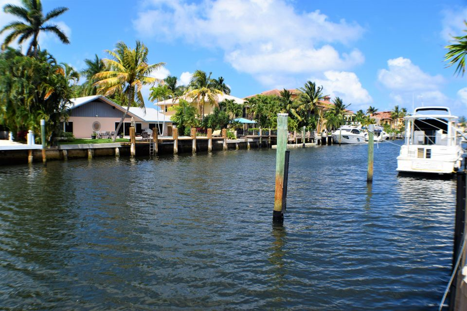 View from dock to the East