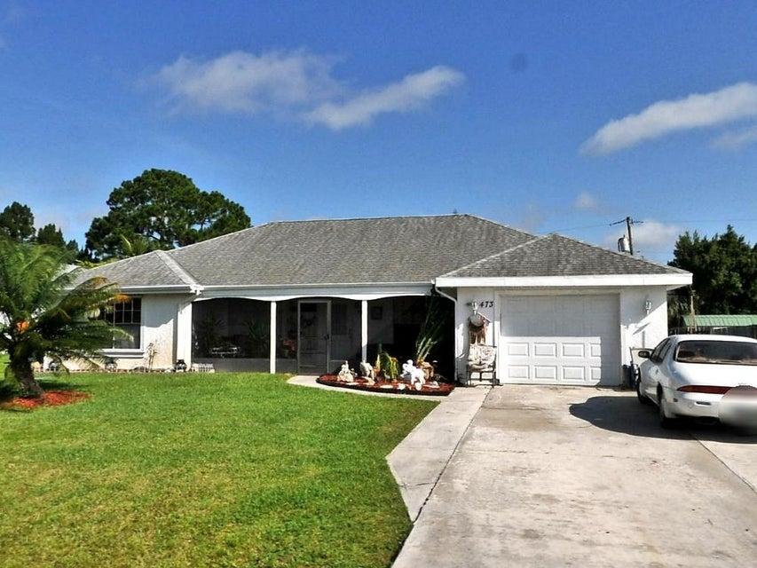 473 SE Starfish Avenue, Port Saint Lucie, FL 34983