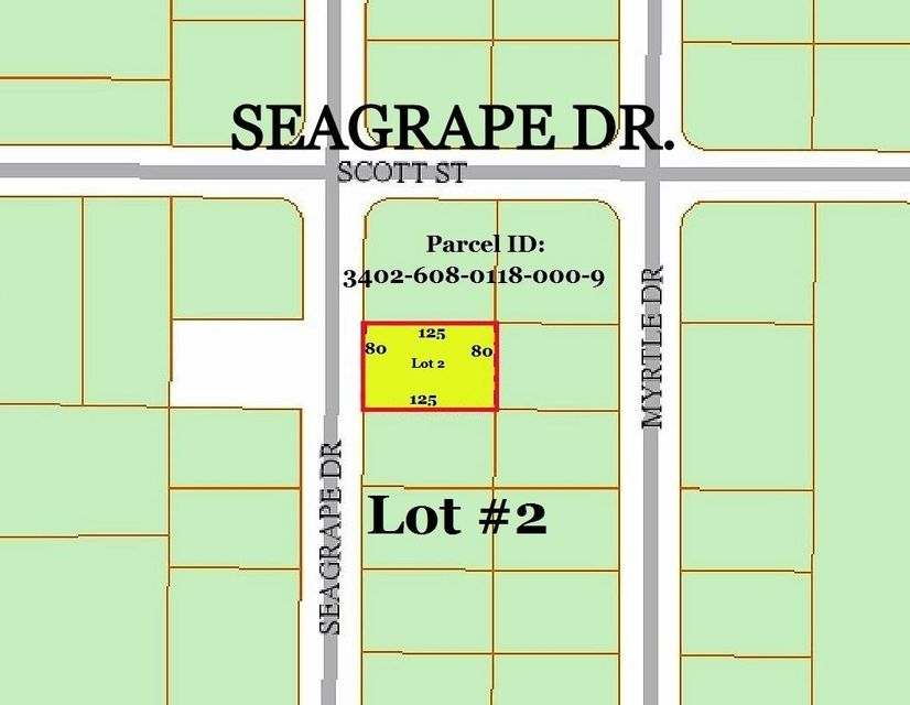 0 Seagrape Dr. Lot 2 Drive