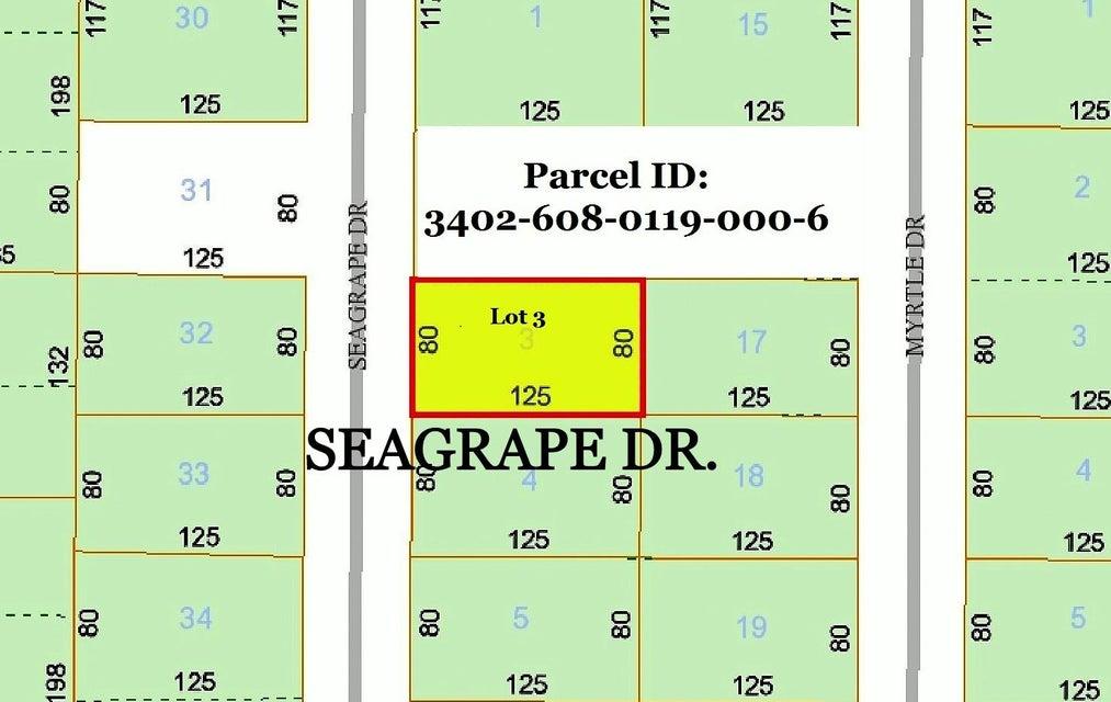 0 Seagrape Dr. Lot 3 Drive