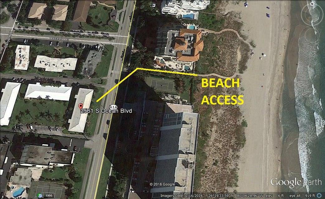 2561 S Ocean Boulevard 8, Boca Raton, FL 33432