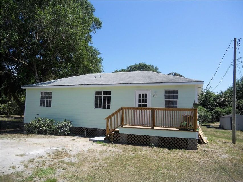 Single Family Home for Sale at 1043 State Street Fellsmere, Florida 32948 United States