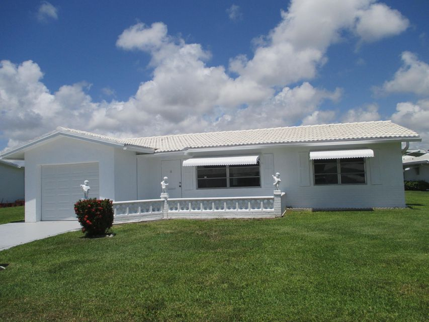 Single Family Home for Sale at 1705 SW 18 Street Boynton Beach, Florida 33426 United States
