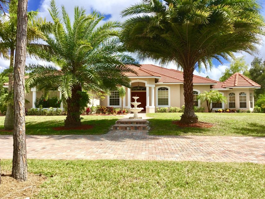 واحد منزل الأسرة للـ Sale في 14330 Temple Boulevard Loxahatchee, Florida 33470 United States