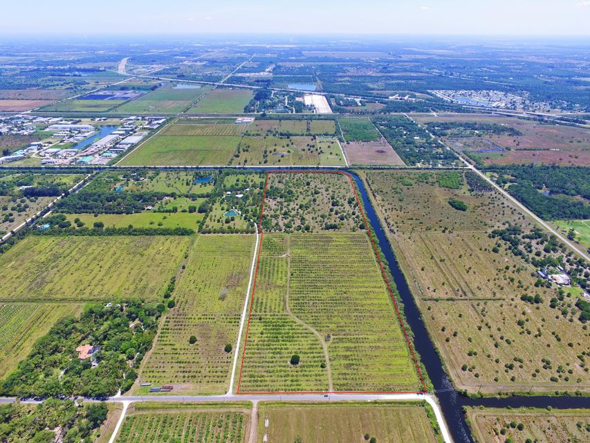 Agricultural Land للـ Sale في 8560 Immokolee Road 8560 Immokolee Road Fort Pierce, Florida 34951 United States