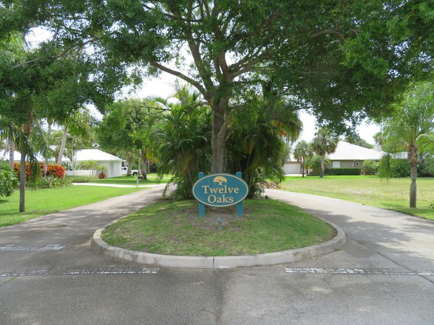 Large lot in exclusive community in Hobe Sound with access to the Intracoastal. Community dock to Intracoastal with day dock/fishing dock. Low HOA fee on a quiet street with upscale homes. $500 annual HOA fee.