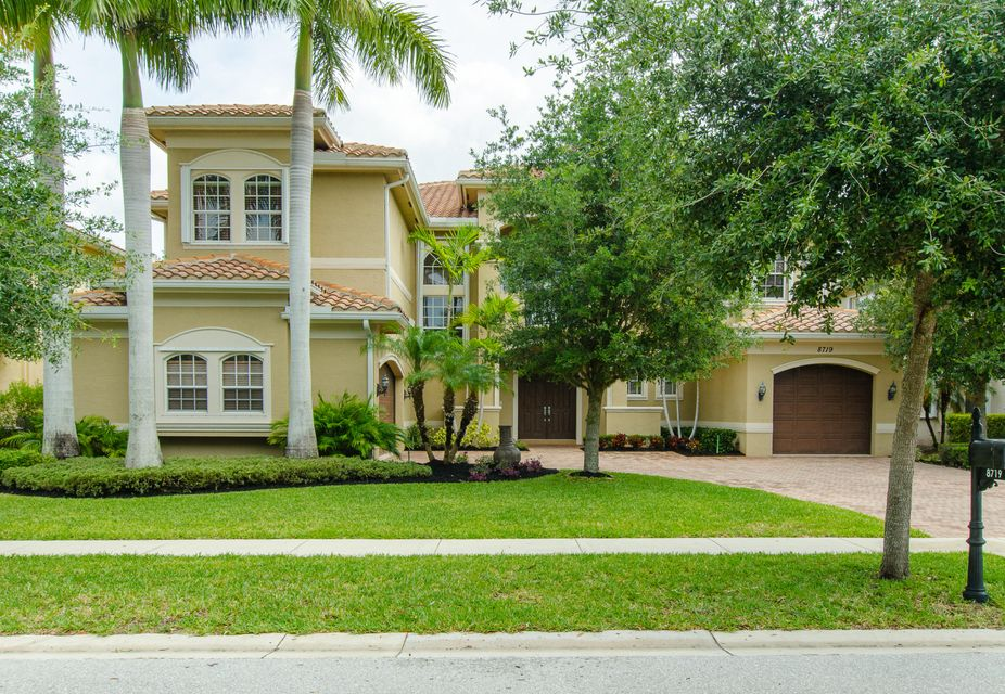 Single Family Home for Sale at 8719 Thornbrook Terrace Point Boynton Beach, Florida 33473 United States