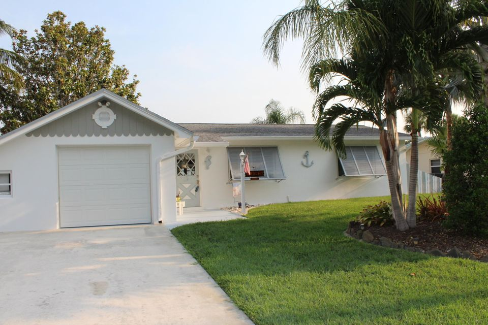 Single Family Home for Sale at 1769 SW Dyer Point Road 1769 SW Dyer Point Road Palm City, Florida 34990 United States
